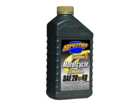 Golden 4 Semi Synthetic Engine Oil. 20w40 1 Liter Bottle. Fits Victory & Air Cooled Indian Models.