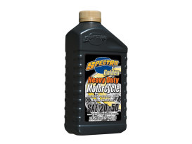 Heavy Duty Golden Semi-Synthetic Engine Oil. 20w50 1 Quart Bottle (946ml). Fits Big Twin 1984up.