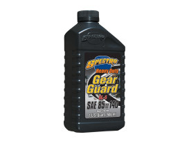 Spectro Heavy Duty Gear Oil Transmission Oil. 85w140 1 Quart Bottle (946ml). Recommended for all 4 & 5 speed Big Twin Models.