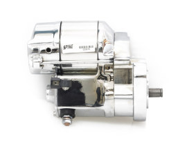 1.4kw Starter Motor - Chrome. Fits Big Twin 1989-2006.