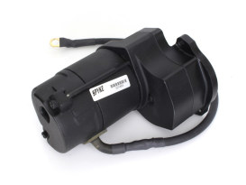 1.4kw Starter Motor - Black. Fits 4Spd Big Twin 1980-1984 with Rear Final Belt Drive.