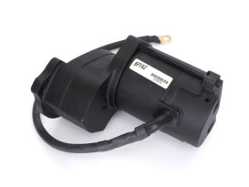1.4kw Starter Motor - Black. Fits 5Spd Big Twin 1980-1984 with Rear Final Belt Drive.