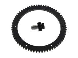 66T Starter Ring Gear Kit. Fits Big Twin 1998-2006.