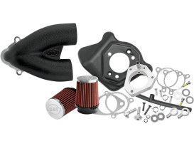 Tuned Induction - Black. Fits Twin Cam 2008-2017 with Throttle-by-Wire.
