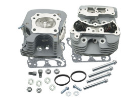 89cc Cylinder Head Kit - Silver. Fits Twin Cam 2006up & Touring 2008up Models with Throttle-by-Wire.