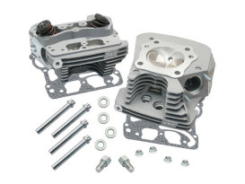 89cc Cylinder Head Kit - Silver. Fits Twin Cam 1999-2005 with 88ci Engine.