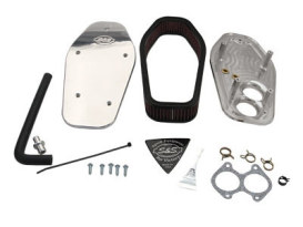 Air Cleaner Kit - Billet Polish. Fits Most Victory 2008-2017.