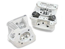 76cc Cylinder Head Kit - Silver. Fits Big Twin 1986-1999.