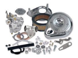 Super E Carburettor Kit. Fits Sportster 1957-1978.