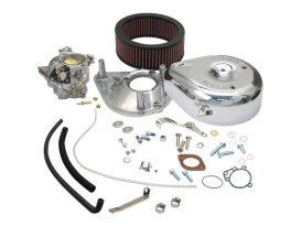 Super E Carburetor Kit. Fits Big Twin 1966-1982 with 5 Gallon Fuel Tanks.