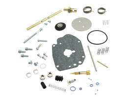 Carburettor Master Rebuild Kit. Fits S&S Super G Carburettor.
