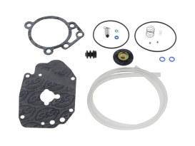 Basic Carburettor Rebuild Kit. Fits S&S Super E & G Carburettors.