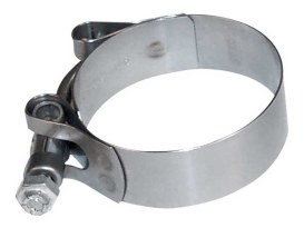 O'Ring Style Intake Manifold Clamp. Fits H-D 1957-1977.