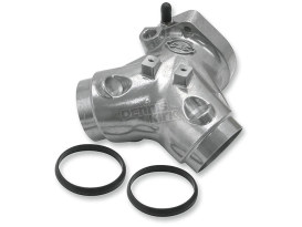 Inlet Manifold. Fits Twin Cam 2006up with 124ci HSU Kit, S&S Single Bore EFI & 5.013