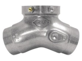 Inlet Manifold. Fits Evo 1984-1999 with 80ci, 89ci or 96ci Engine, S&S E or B Carburettor & 5.550
