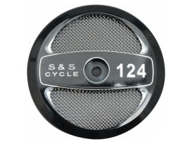 124ci Displacement Air Filter Cover - Black.