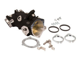66mm Throttle Body - Black. Fits Big Twin 2006up.