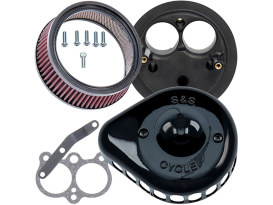 Mini Teardrop Air Cleaner Kit - Black. Fits XG750 2017up.