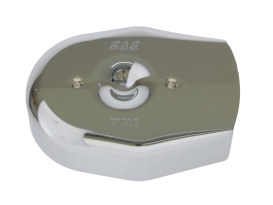 Tribute Air Cleaner Cover - Chrome. Fits Stealth Air Filter.