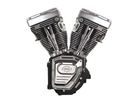 124in. Twin Cam A Engine with Black Finish. Fits Dyna 1999-2005 & Touring 1999-2006 Models.