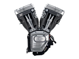 111in. Twin Cam A Engine with Black Finish. Fits Dyna 1999-2005 & Touring 1999-2006 Models.