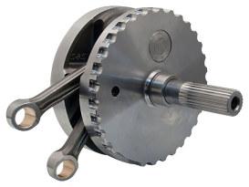 4-3/8in. Stroke Flywheel Assembly. Fits Twin Cam Softail 2007-2017.