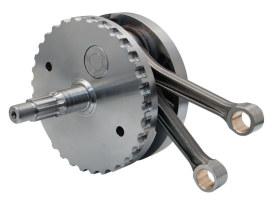 4in. Stroke Flywheel Assembly. Fits Twin Cam Softail 2000-2002.