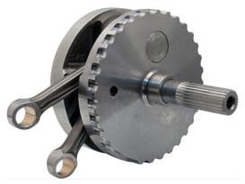 4-5/8in. Stroke Flywheel Assembly. Fits 120R Motors in Twin Cam Softail 2007-2017.