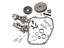 635GE Gear Drive Easy Start Camshaft Kit. Fits Dyna 2006 & Twin Cam 2007-2017.