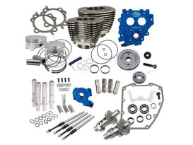 100ci Power Pack Kit with 585 Gear Drive Easy Start Cams - Black. Fits Big Twin 1999-2006.