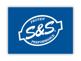 S&S Cycle Vinyl Logo Banner.