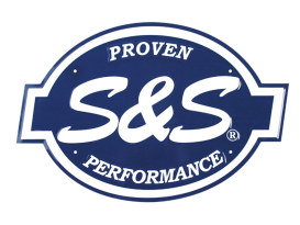 S&S Cycles Proven Performance Metal Sign.