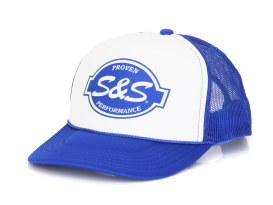 S&S Trucker Hat. Blue