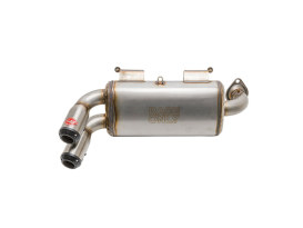 Power Tune XTO Exhaust - Stainless Steel with Race Muffler. Fits Polaris RZR XP 1000 2015up.