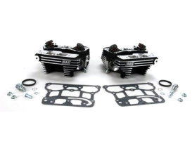 Cylinder Head Kit - Black. Fits Twin Cam 88 1999-2005.