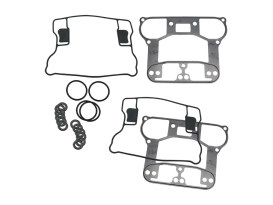 Rocker Cover Gasket Kit. Fits Big Twin 1984-1999 & Sportster 1986-2003 with Diecast Rocker Covers.
