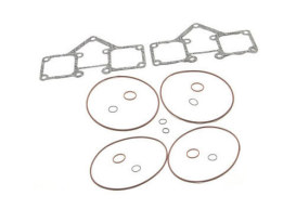 Gasket Kit; Rocker Cvr Big Twin'66-84using Billet Rocker Cvr's