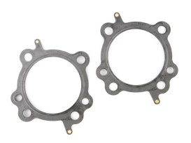 0.030in. Head Gaskets - 3.927/3.937in. Bore. Fits Air & Water Cooled Twin Cam Engines with S&S 97ci, 98ci, 106ci or 107ci Big Bore Kits.