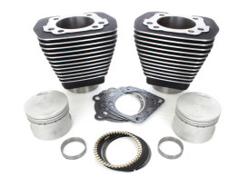 Cyl Kit; BT'84-99 Blk OEM replacement. Inc. Piston kit+gasket