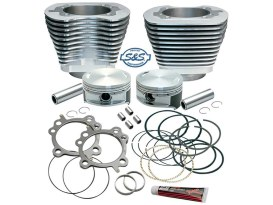 88ci to 106ci Stroker Cylinder Kit - Silver. Fits Twin Cam 1999-2006.</P><P>