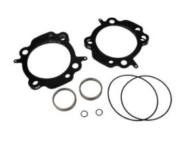Head & Base Gasket Kit. Fits Air & Water Cooled Twin Cam Engines with S&S 97ci, 98ci, 106ci or 107ci Big Bore Kits.