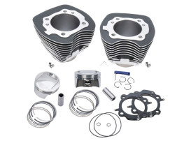 98ci Big Bore Kit - Black. Fits Big Twin 1999-2006.