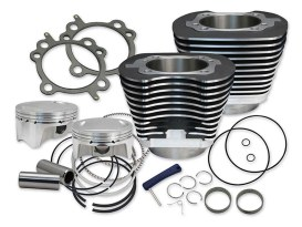 107ci Big Bore Kit - Black. Fits Twin Cam 2007-2017.