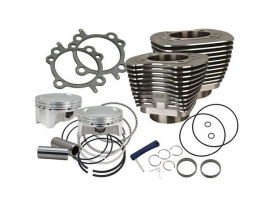 100ci Big Bore Kit - Black. Fits Big Twin 1999-2006.