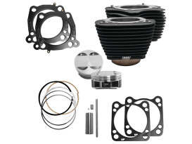 124ci Big Bore Kit - Black. Fits Milwaukee-Eight 2017up with 107ci Engine.