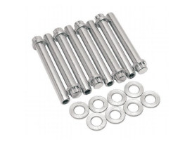 Head Bolt Kit; TC w/Heads Fits : 88, 95, 96,100, 106 & 107ci