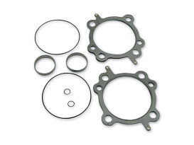 "Head & Base Gasket Kit. Fits Air & Water Cooled Twin Cam Engines fitted with S&S 100 & 110ci 4"" Big Bore Kit."