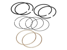 Standard Piston Rings. Fits Big Twin 1966-1999 & Sportster 1986-2003 with 3-5/8in. Bore.