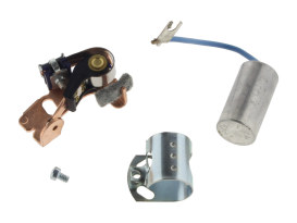 Points & Condenser Kit. Fits Big Twin 1970-1978 & Sportster 1971-1978.