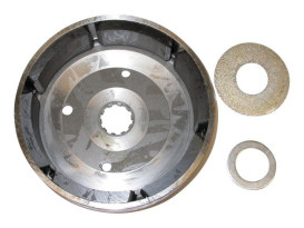 32 Amp Alternator Rotor. Fits FX 1982-86, Softail 1984-00, Dyna 1991-03, FXR 1982-94 & Touring 1982-95.